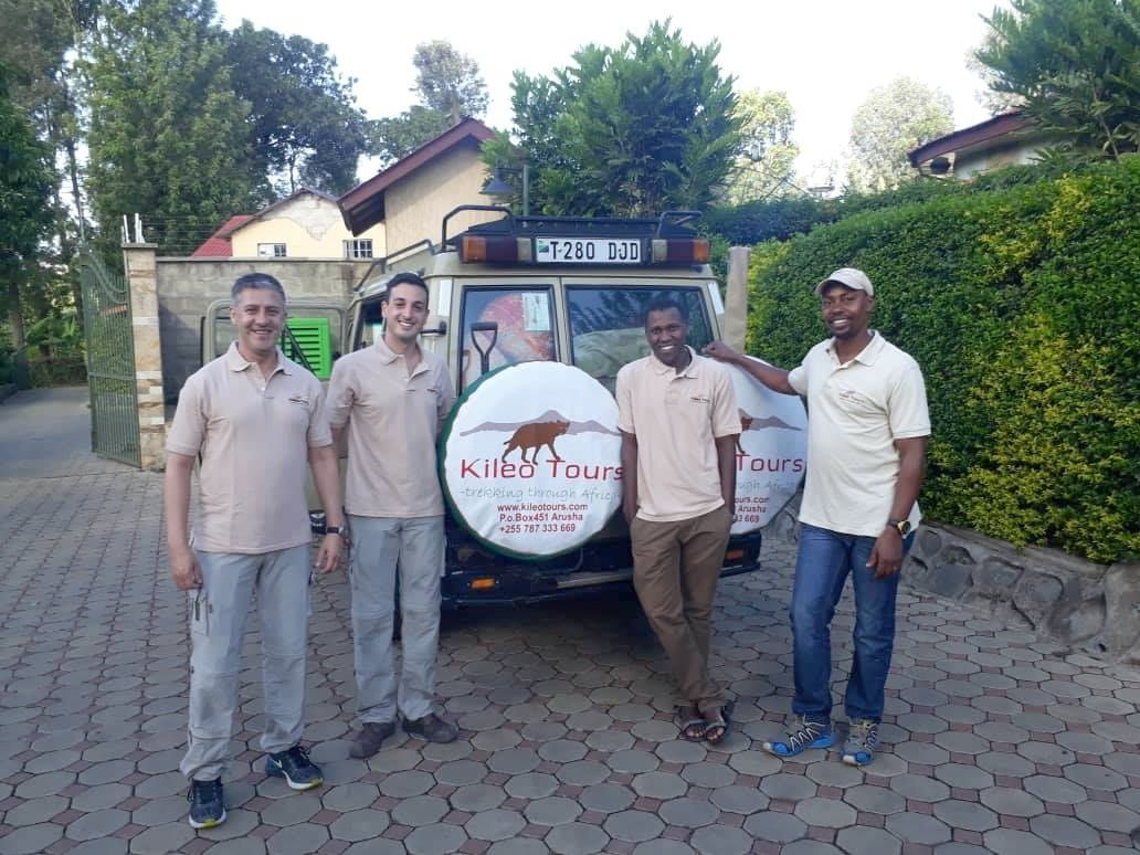 Maida, begin of 5 days safari