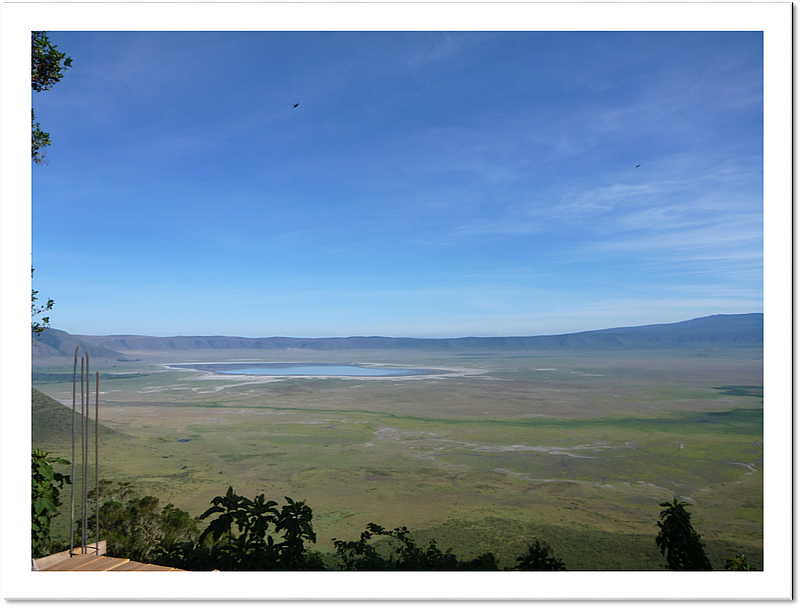 Ngorongoro - View into Crater
