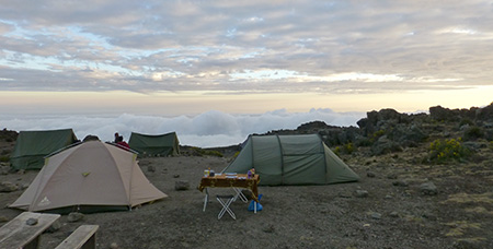 Camp on the Rongai Route