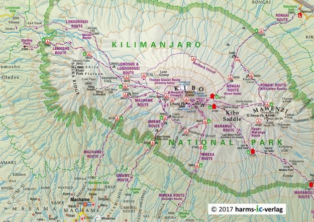 Kilimanjaro_routen